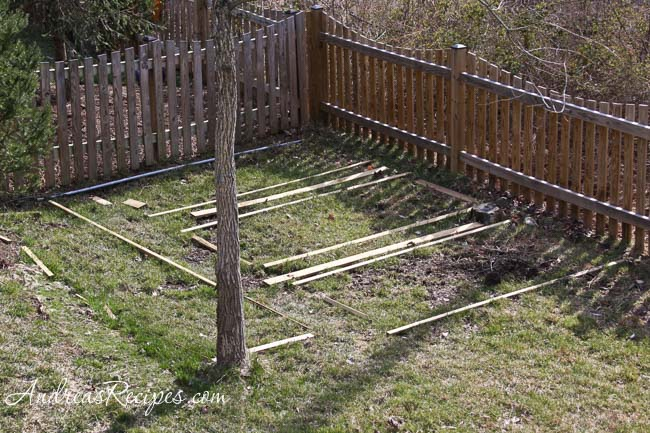 Andrea's Recipes - Building raised garden beds