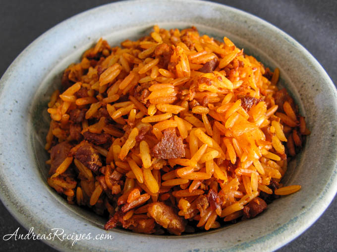 Saipan Red Rice (Eneksa Agaga) - Andrea Meyers