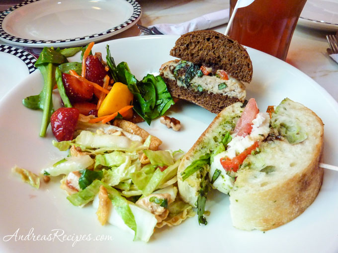Andrea Meyers - Silver Diner sandwiches and salads