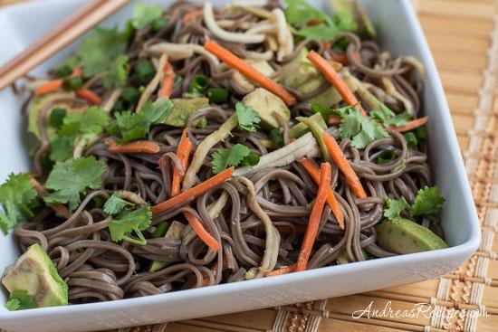 Andrea Meyers - Zucchini Soba Salad
