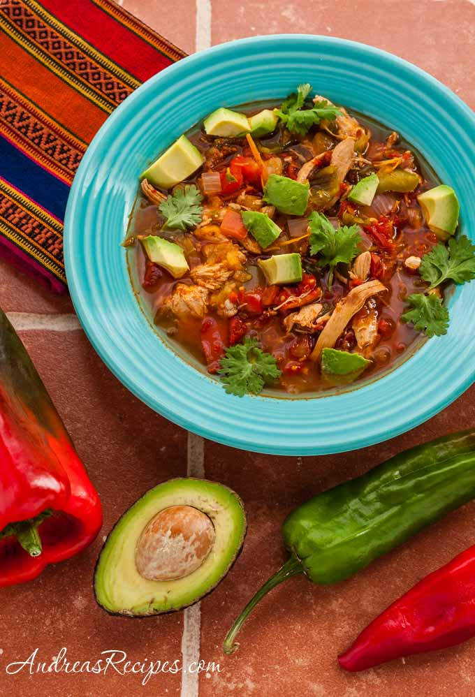 Andrea's Recipes - Chicken Tortilla Soup