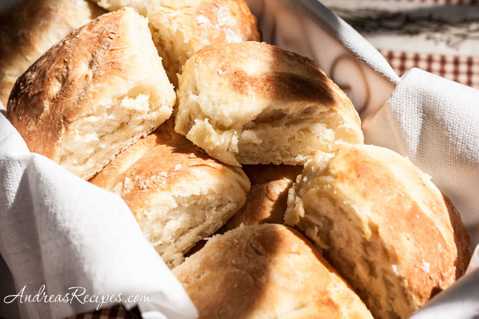 Southern Pinch Biscuits - Andrea Meyers