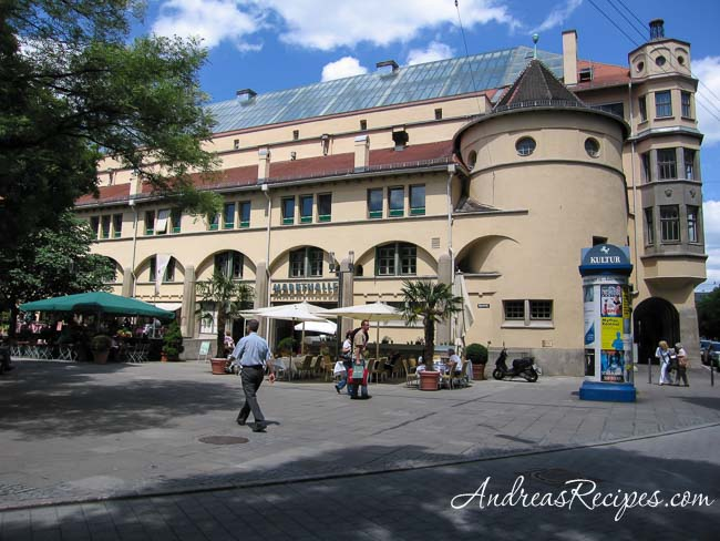 Stuttgart Markthalle - Andrea Meyers