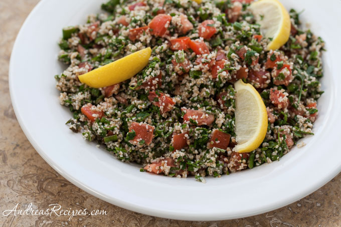 Andrea's Recipes - Tabouleh