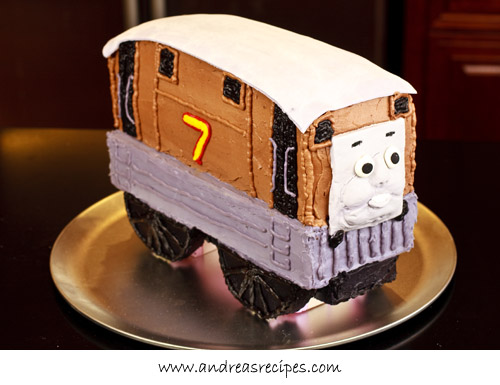 Andrea Meyers - Toby Train Birthday Cake