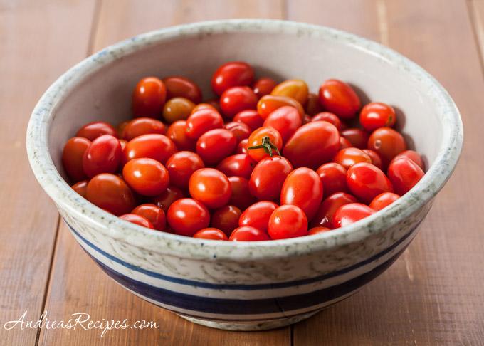 Grape Tomatoes - Andrea Meyers