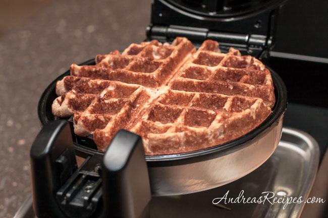 Andrea Meyers - Honey Cinnamon Whole Wheat Waffles