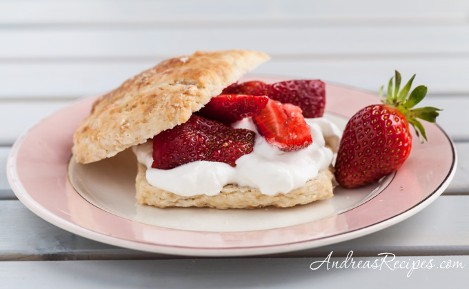 Brown Sugar Strawberry Shortcake - Andrea Meyers
