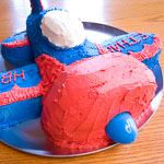 Andrea Meyers - Airplane Birthday Cake