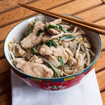Chicken Chow Fun (The Kids Cook Monday) - Andrea Meyers
