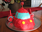Andrea Meyers - Little Einstein Rocket Birthday Cake