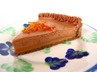 Milk Chocolate and Caramel Tart, August 2007