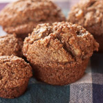 Andrea Meyers - Banana Bran and Toasted Walnut Muffins
