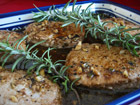 Andrea Meyers - Pork Medallions with Balsamic Honey Glaze