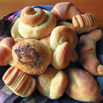 Andrea's Recipes - Hot Rolls, One Dozen Ways