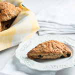 Andrea Meyers - Sour Cream Cherry Scones