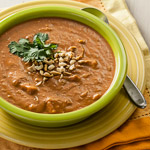Curried Peanut, Sweet Potato, and Tomato Soup (The Kids Cook Monday) - Andrea Meyers