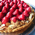 Andrea Meyers - Strawberry Cream Tart