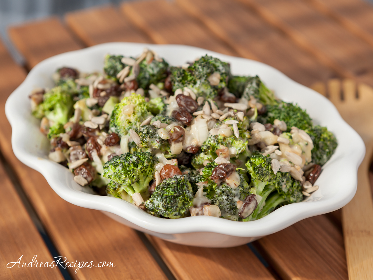 Broccoli Raisin Salad - Andrea Meyers