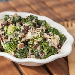 Broccoli Raisin Salad Recipe - Andrea Meyers