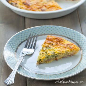 Crustless Quiche - Andrea Meyers
