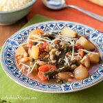Winter Minestrone Soup - Andrea Meyers