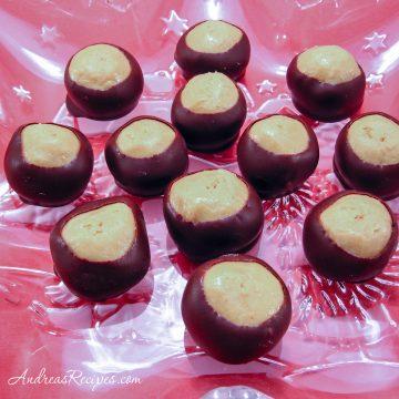 Buckeyes Candy - Andrea Meyers