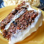 Carrot Cake with Cream Cheese Frosting - Andrea Meyers