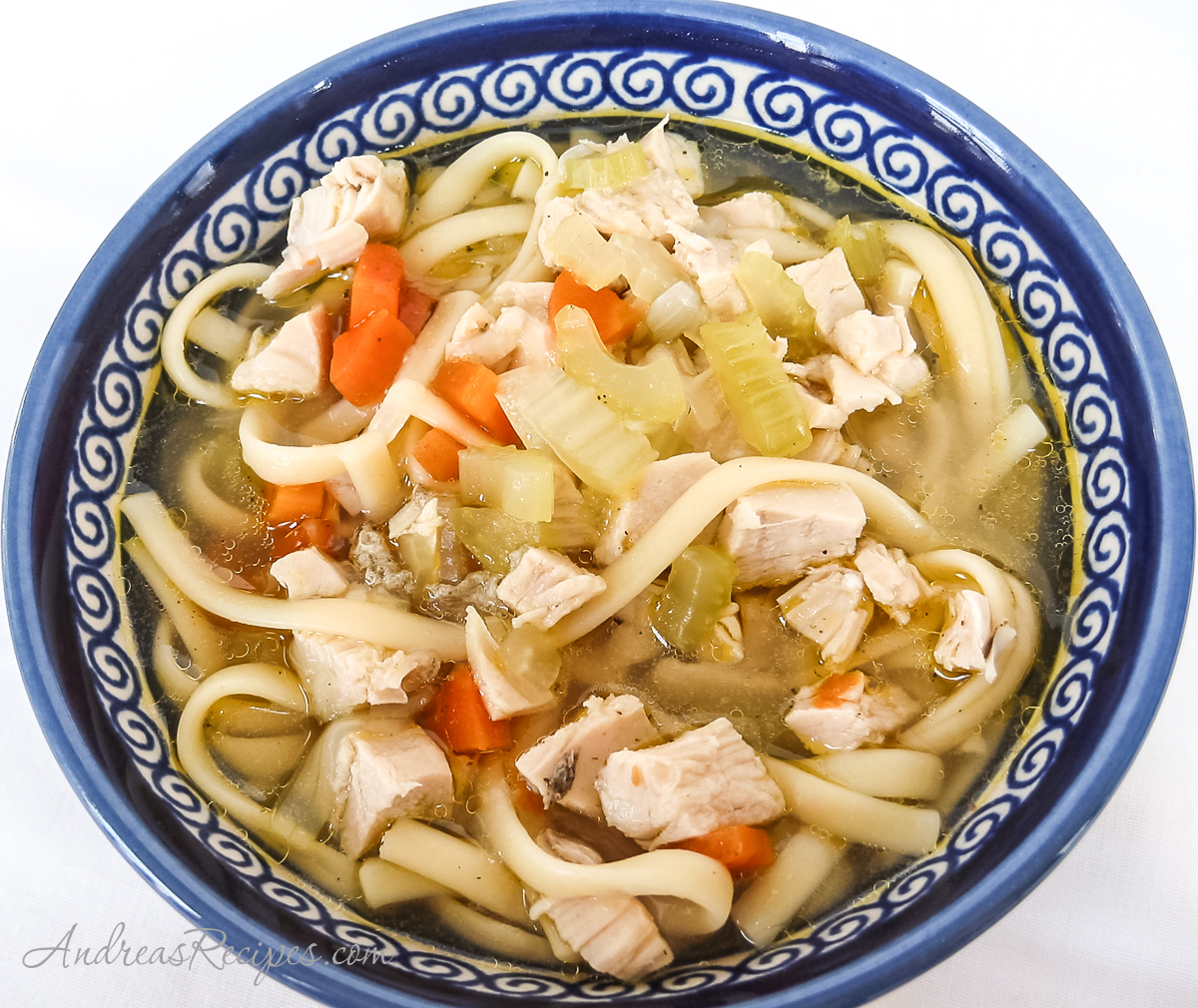 Get Well Chicken Noodle Soup - Andrea Meyers
