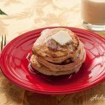 Eggnog Pancakes - Andrea Meyers