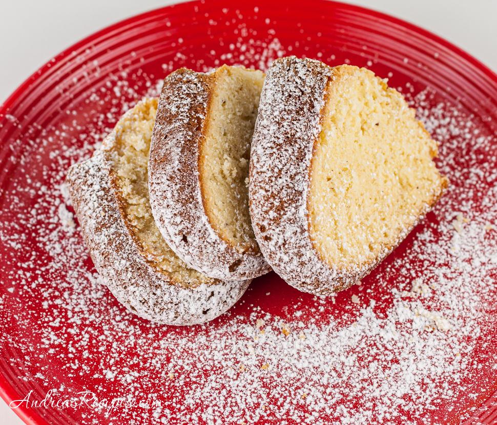 Eggnog Pound Cake - Andrea Meyers