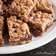 Oatmeal Caramelitas Bar Cookies - Andrea Meyers