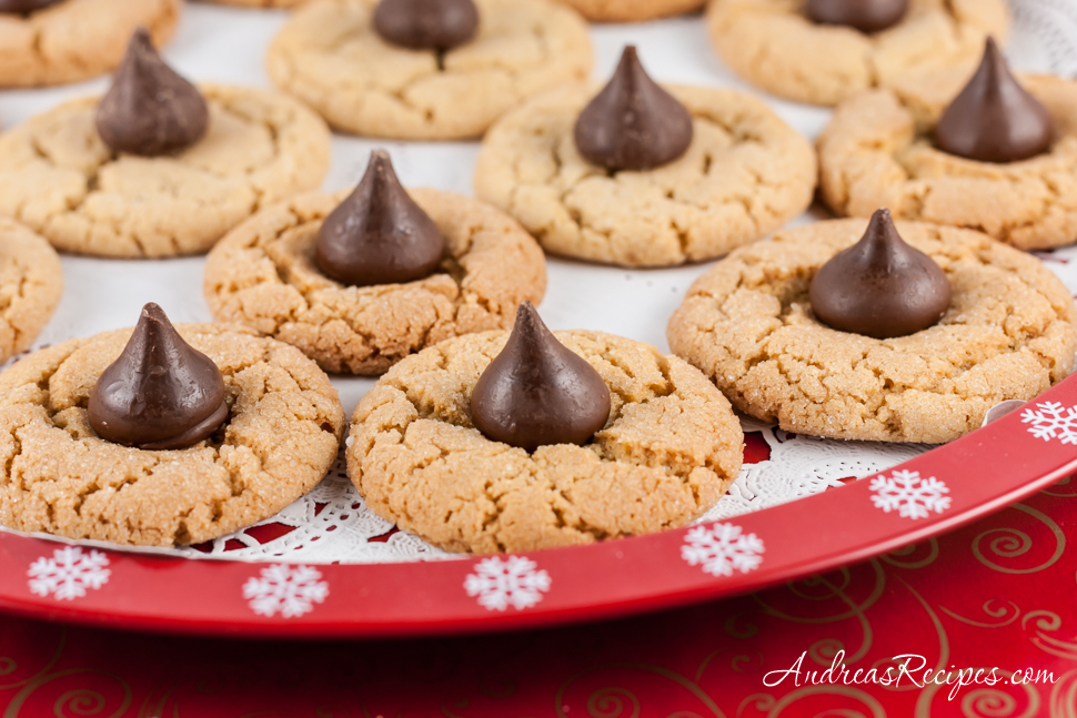 peanut butter kiss cookies recipe