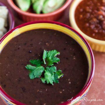 Black Bean Soup - Andrea Meyers