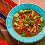 Slow Cooker Chicken Tortilla Soup - Andrea Meyers