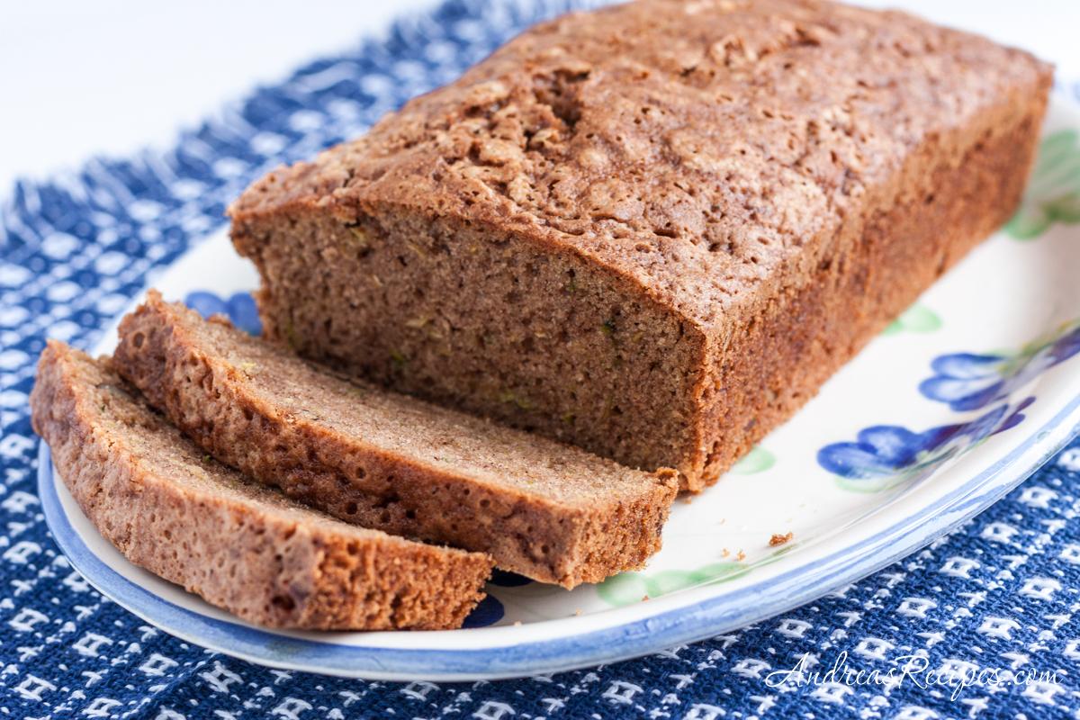 Mom's Zucchini Bread - Andrea Meyers