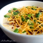 Cream of Baked Potato Soup - Andrea Meyers