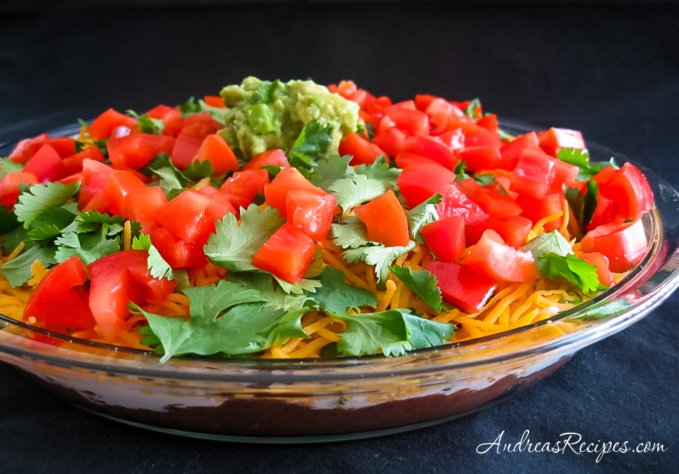 Layered Bean Dip - Andrea Meyers