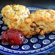Oatmeal Cream Scones - Andrea Meyers