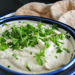 Hummus bi Tahini Recipe - Andrea Meyers
