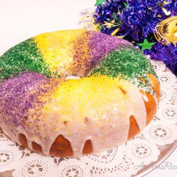 Mardi Gras King Cake - Andrea Meyers