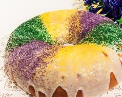 Mardi Gras King Cake (the recipe)