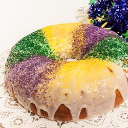 Mardi Gras King Cake Recipe - Andrea Meyers