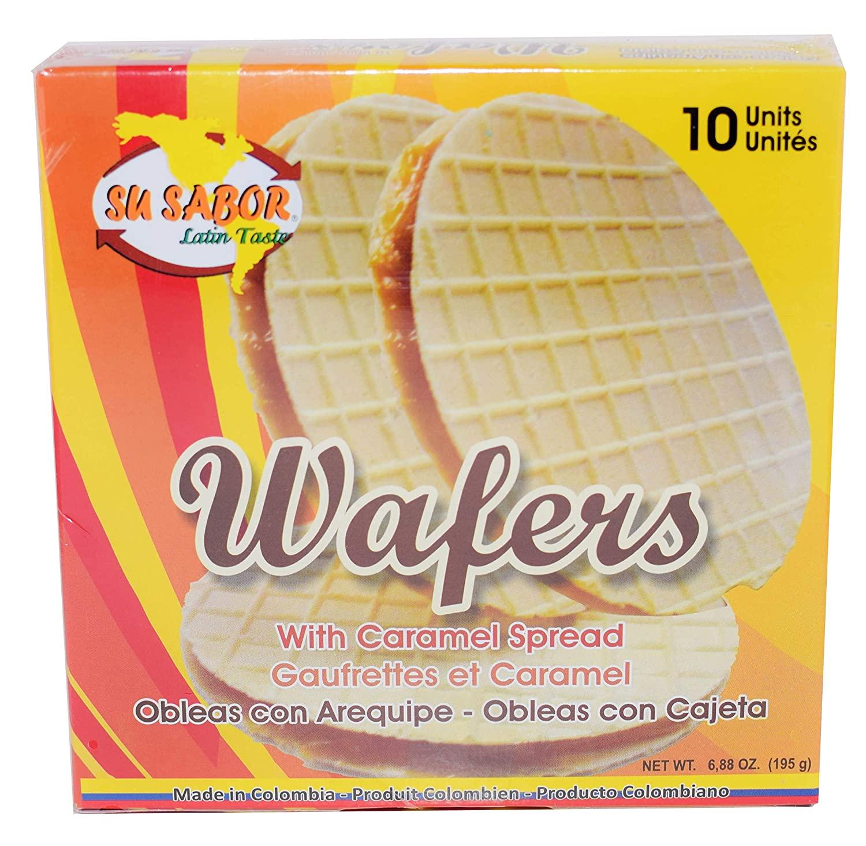 Obleas wafers - Andrea Meyers