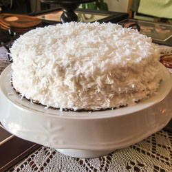 Grandma's Coconut Cake Recipe - Andrea Meyers
