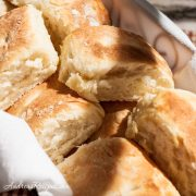 Southern Pinch Biscuits (aka Squeeze Biscuits) - Andrea Meyers