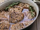 Pork Medallions with Balsamic-Honey Glaze - Andrea Meyers
