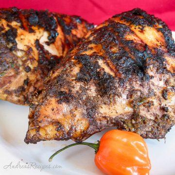 Jamaican Jerk Chicken - Andrea Meyers
