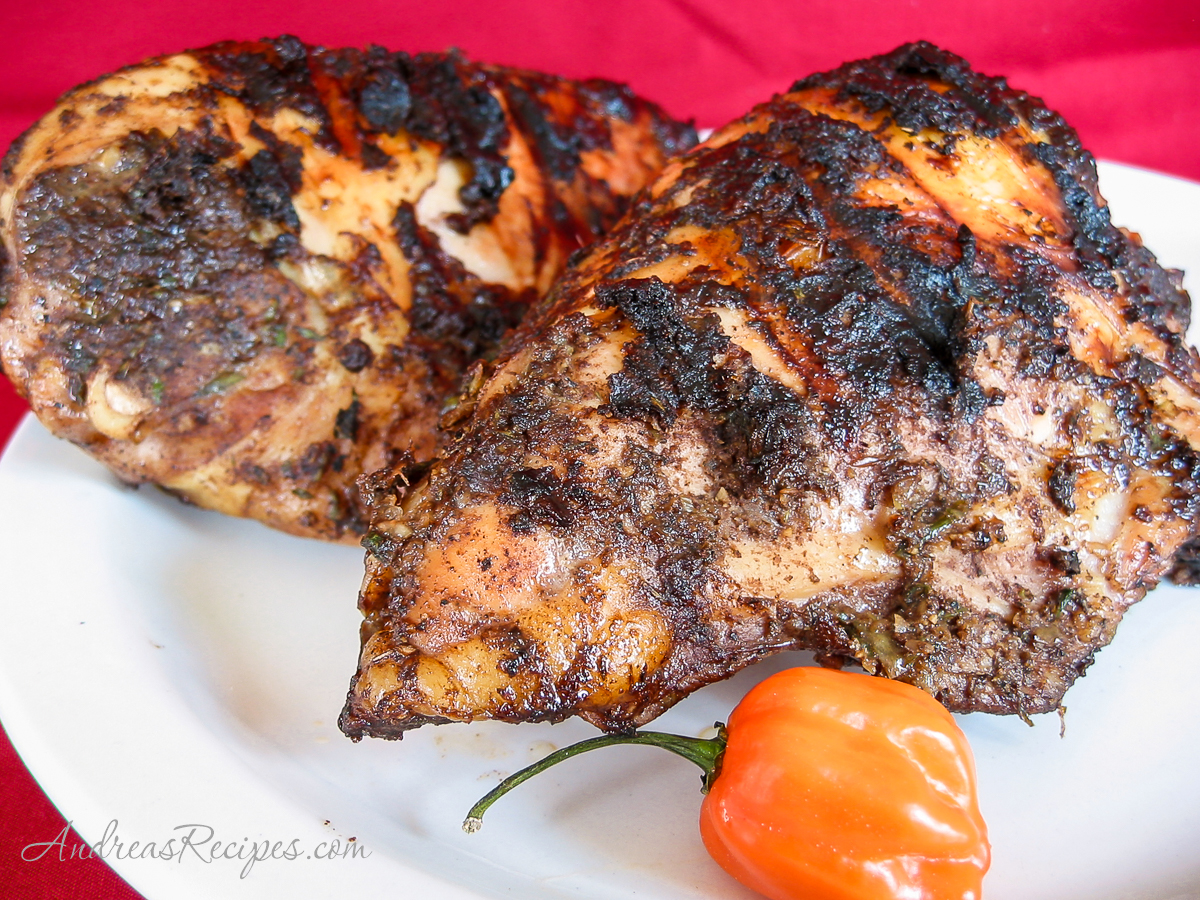 Jamaican Jerk Chicken - Andrea Meyers