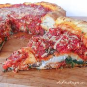 Chicago-Style Stuffed Pizza - Andrea Meyers